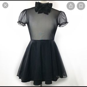 Valfré Mini Sheer Dress